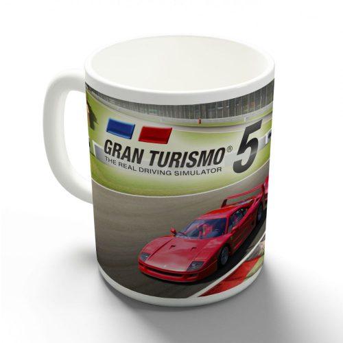 Gran Turismo - Autók a pályán bögre