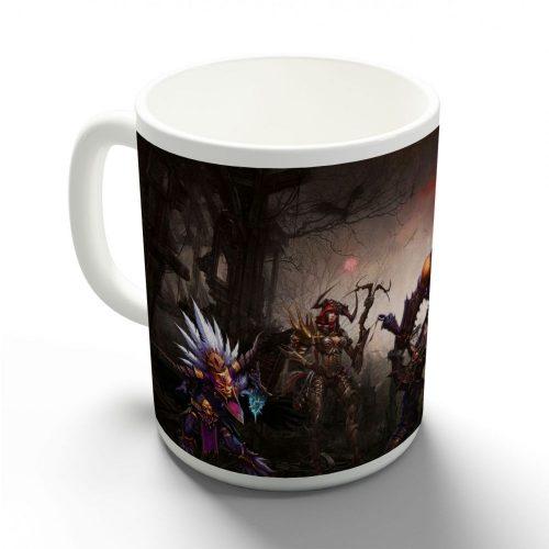 Diablo 3 bögre