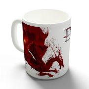Dragon Age - Vérvonalak bögre