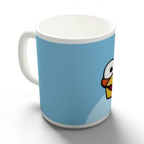Egy kék dühös madár bögre