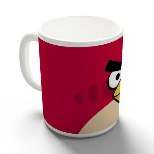 Egy piros dühös madár bögre