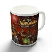 World of Warcraft Draenor logo bögre
