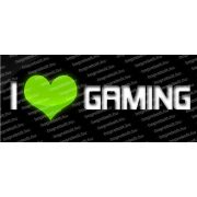 I love gaming bögre