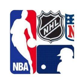 NBA, NFL, NHL